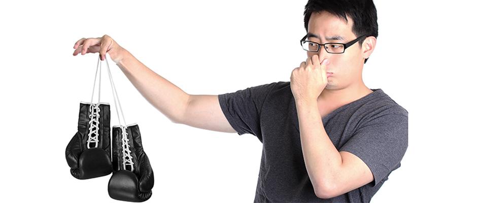 como mantener los guantes limpio y sin olor, como se lavan los guantes de boxeo