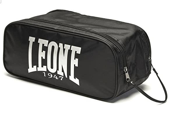LEONE 1947 AC932 - Bolsa para Guantes, Color Negro, Talla única