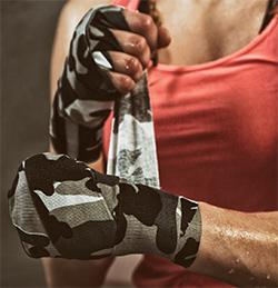 Vendas para guantes de boxeo