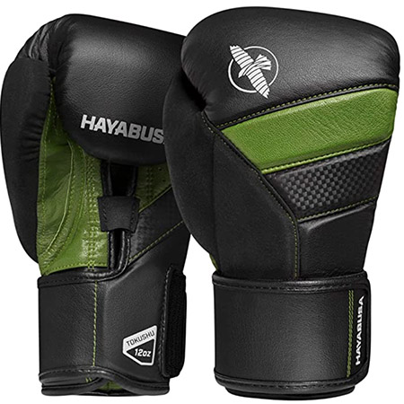 Guante de box hayabusa color verde