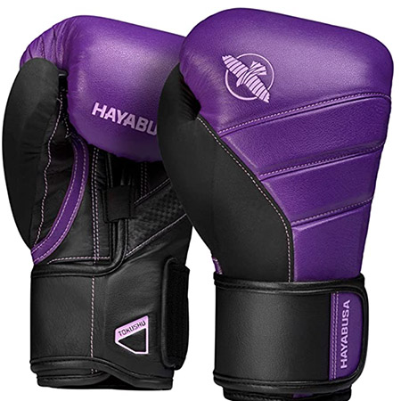 Guantes de box hayabusa T3 color morado