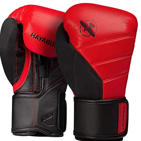 Guantes de boxeo hayabusa T3 color rojo