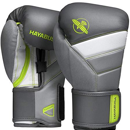 guantes de box T3 color verde limon hayabusa