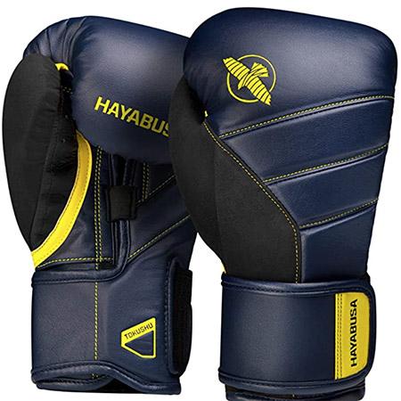 guantes de boxeo azul marino