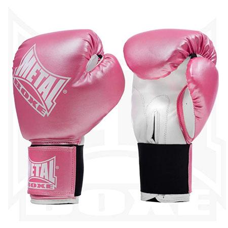 Guantes de boxeo para mujer