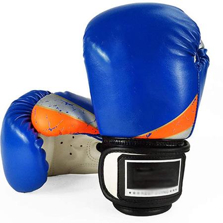 Guantes De Boxeo para Niños, 6 Oz PU Guantes De Kickboxing Saco De Boxeo Entrenamiento