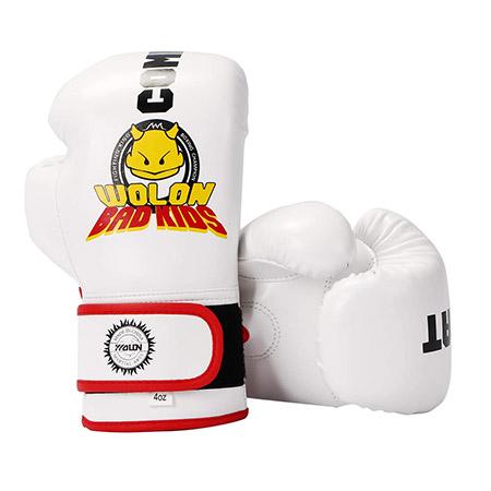 Huining - Guantes de boxeo para niños, guantes de entrenamiento para niños, guantes de artes marciales mixtas, guantes de entrenamiento, copia