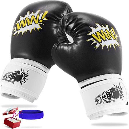 LetsGO toyz Guantes de Boxeo para Niños, Regalos Cumpleaños Deporte Juguetesa