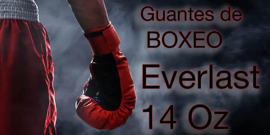 Guantes de boxeo everlast 14 Oz