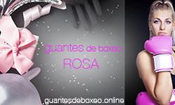 guantes de box rosa